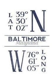 Baltimore Lattitide